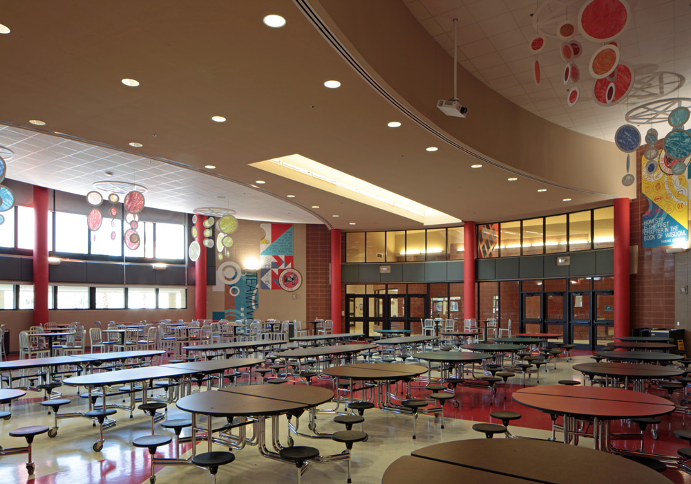 HCISD Memorial Middle School Cafeteria
