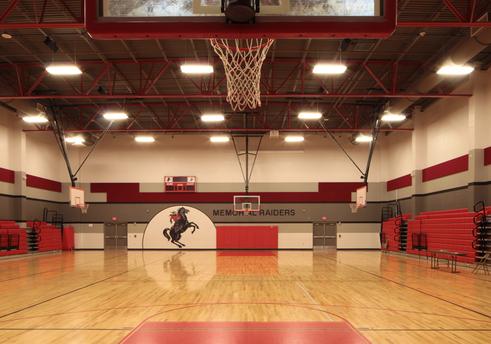 HCISD Memorial Middle School gym