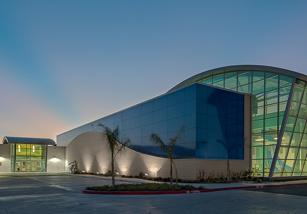 Harlingen Aquatic Center Exterior