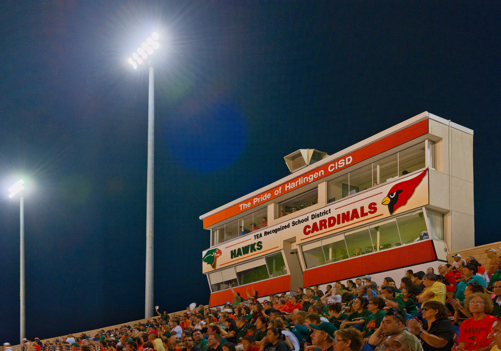 Harlingen Boggus Stadium Stadium Lights
