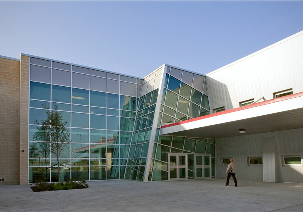 JLISD Lincoln HS Exterior Entrance