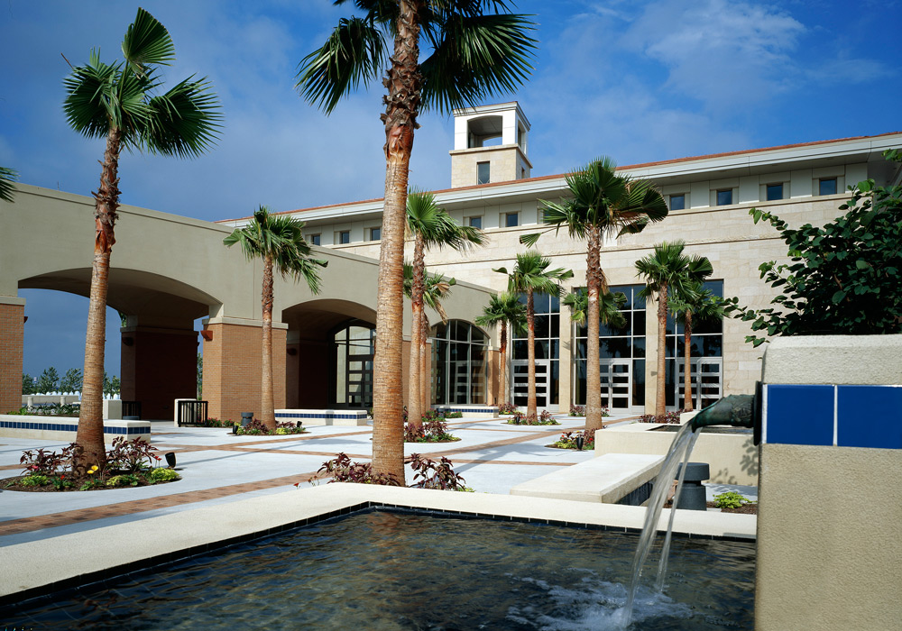 McAllen Conventio Center water feature