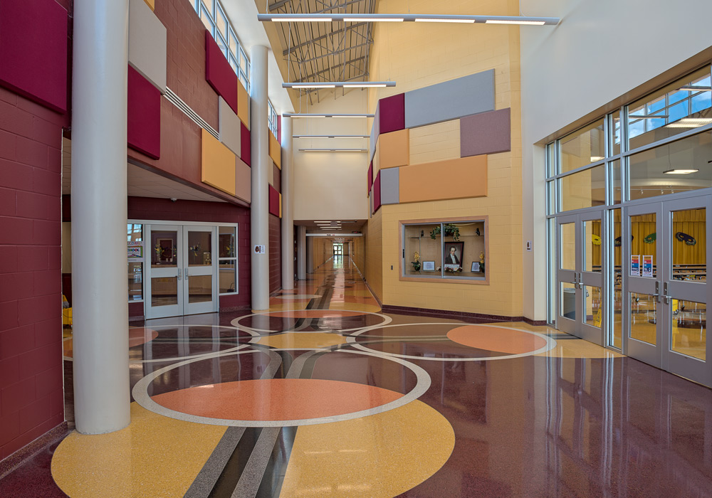 PSJAISD Austin Middle School Hall
