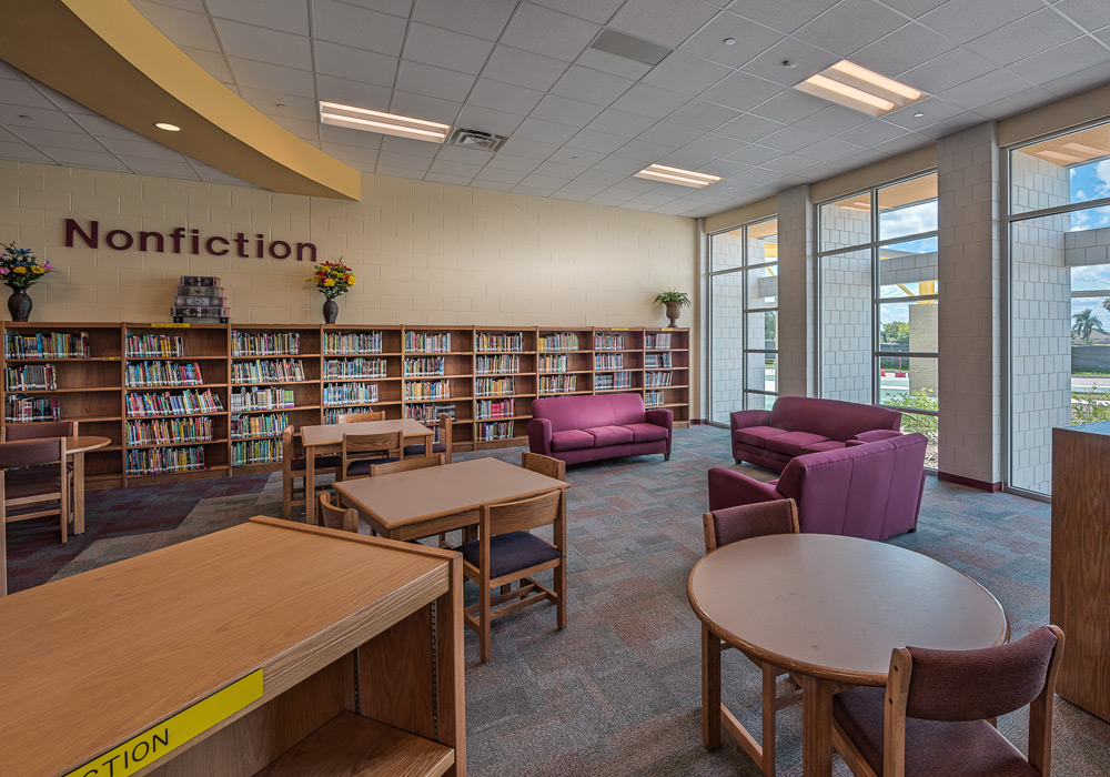 PSJAISD Austin Middle School Library