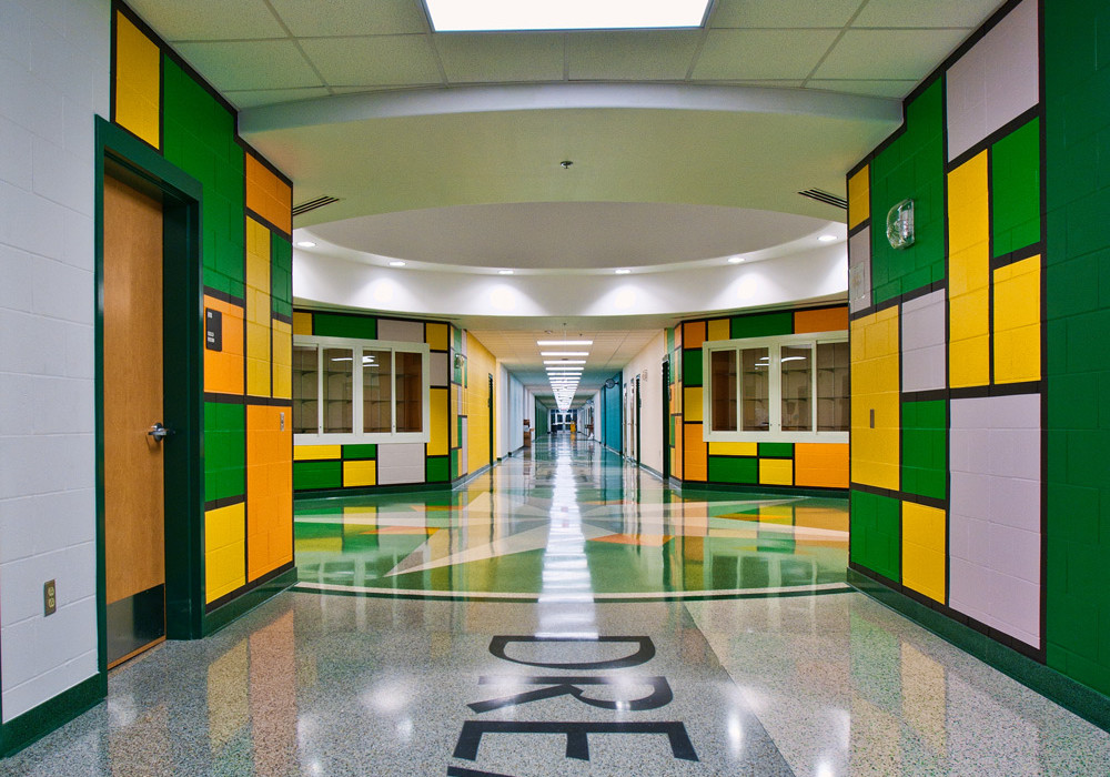 PSJAISD Murphy Middle School Hall