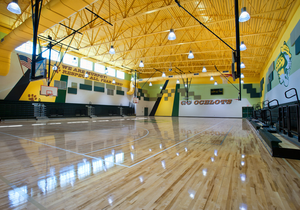 PSJAISD Murphy Middle School Gym