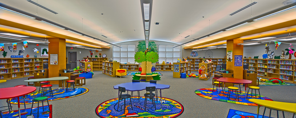 Pullam Elementary School Library