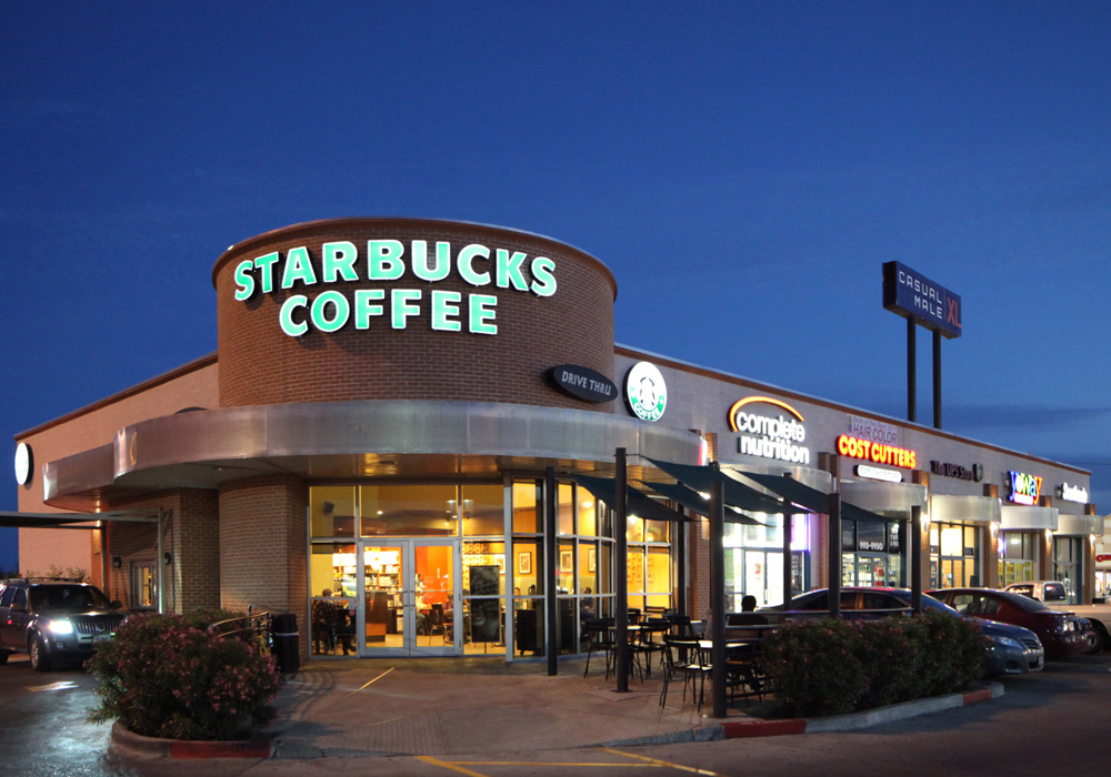Starbucks Retail Center