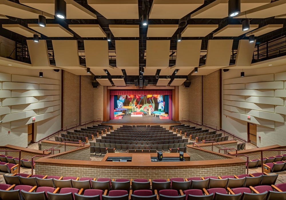 TMISD Performing Arts Center Interior