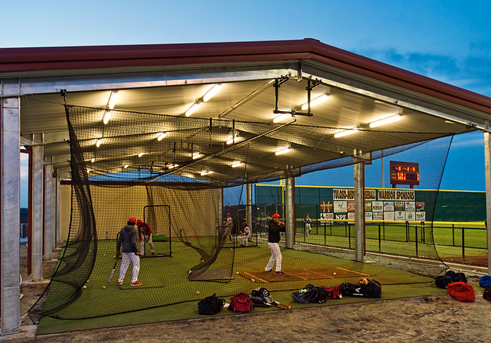 Tuloso Midway Baseball Field Batting Cage