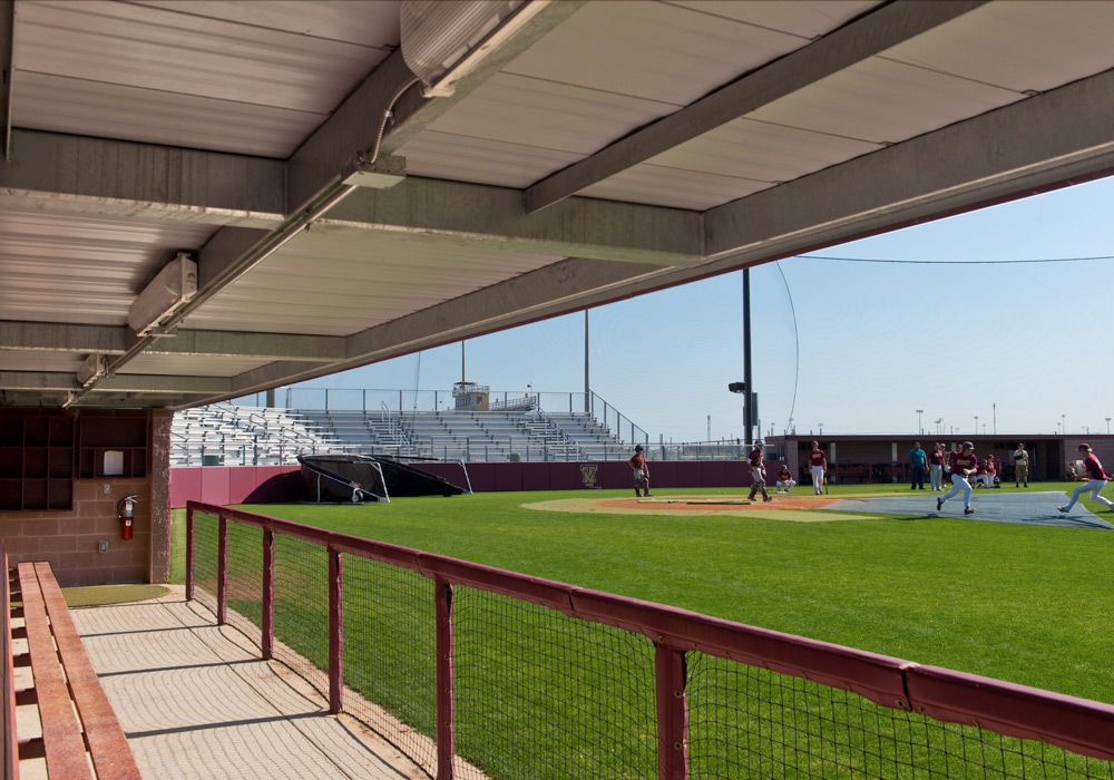 Tuloso Midway Baseball Field Dugout